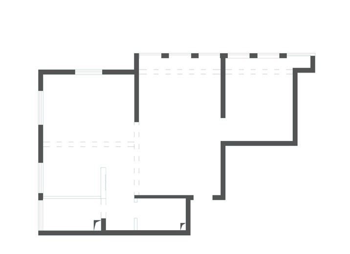 三居 混搭 简约 户型图图片来自北京实创装饰在融泽嘉园108平米三居的分享