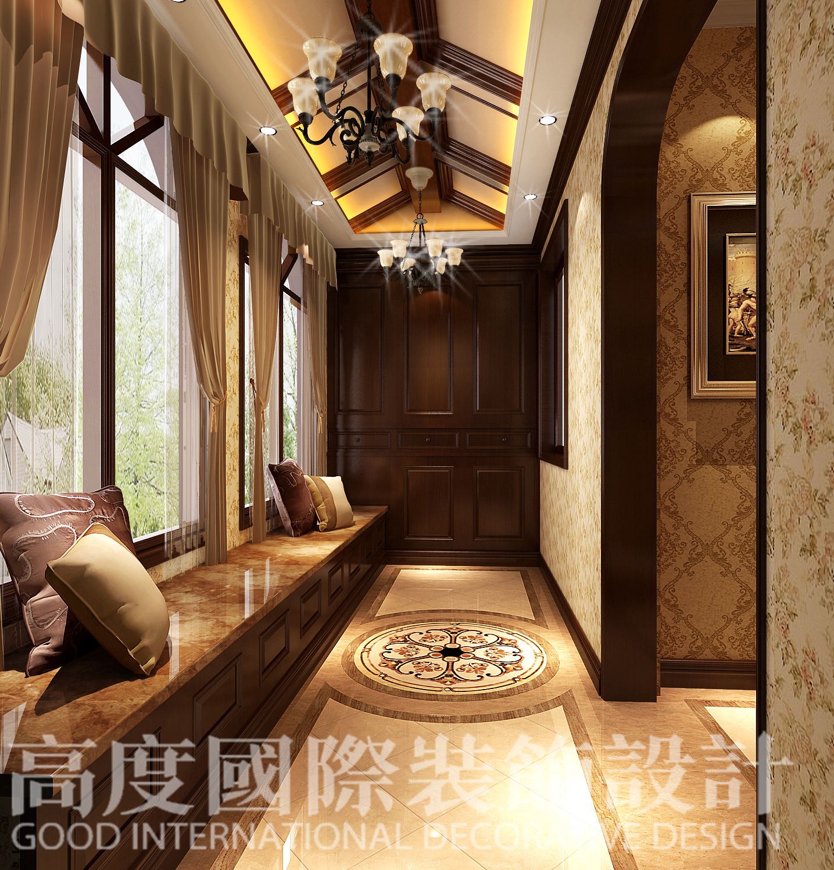 北京装修 北京设计 别墅设计 别墅装修图片来自高度国际装饰韩冰在长滩一号2的分享