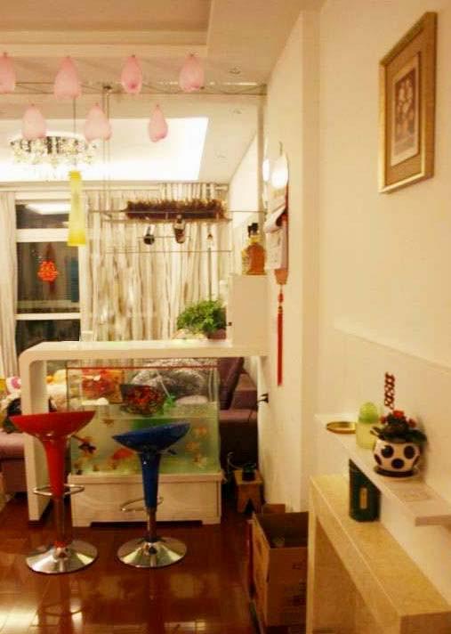 简约 二居 白领 80后 婚房 玄关图片来自武汉实创装饰在汉阳怡园的温馨简约婚房的分享
