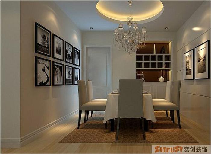餐厅图片来自多芬宝贝在7.9万装混搭风格-120平三居室的分享