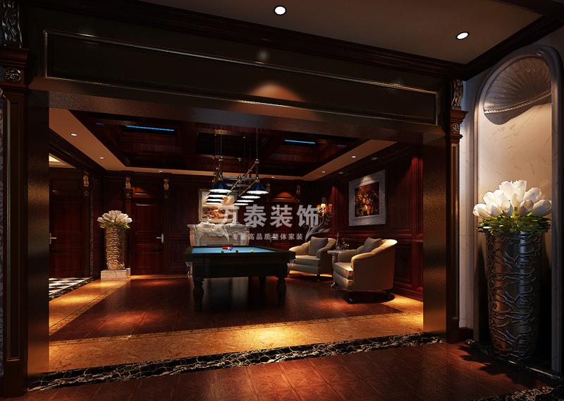 其他图片来自潍坊万泰装饰在新古典的奢华享受 360平独栋别墅的分享