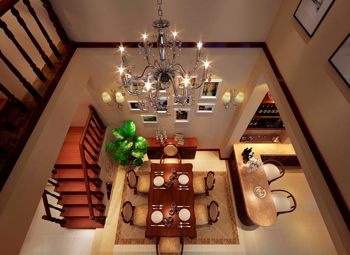 别墅 中式 徐曙光中式 实创装饰 餐厅图片来自xushuguang1983在大气中式风格233平米独栋别墅的分享