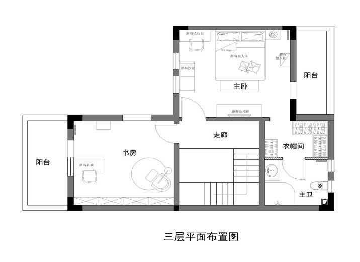 别墅 中式 徐曙光中式 实创装饰 户型图图片来自xushuguang1983在大气中式风格233平米独栋别墅的分享