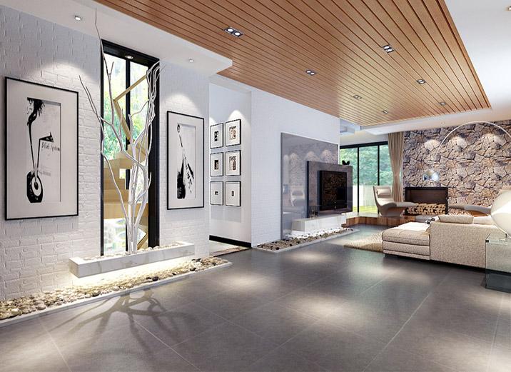 别墅 现代别墅 新新小镇 实创装饰 客厅图片来自xushuguang1983在新新小镇388平米简洁度假别墅的分享