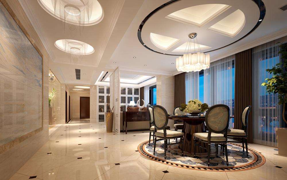 餐厅图片来自深圳市浩天装饰在世豪大厦的分享