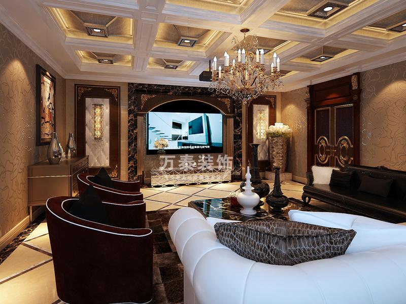 厨房图片来自潍坊万泰装饰在新古典的奢华享受 360平独栋别墅的分享