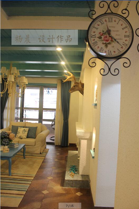 客厅图片来自ypdesigner888在醉爱地中海的分享
