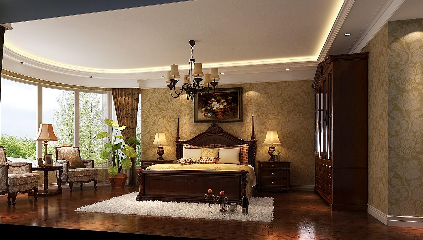简约 美式 二居 三居 别墅 白领 收纳 旧房改造 80后 卧室图片来自周楠在颇具时尚的美式的分享