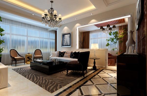 客厅20平黑白灰为主体的现代简约式客厅设计理念:深棕色的茶几和咖啡色的窗帘,墙面整体背景色以浅灰色为主,打造以黑白灰为主体的现代简约风格。