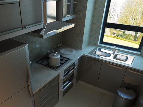 欧式 别墅 80后 白领 厨房图片来自沈阳林凤装饰装修公司在远洋岦宫236㎡现代欧式的分享
