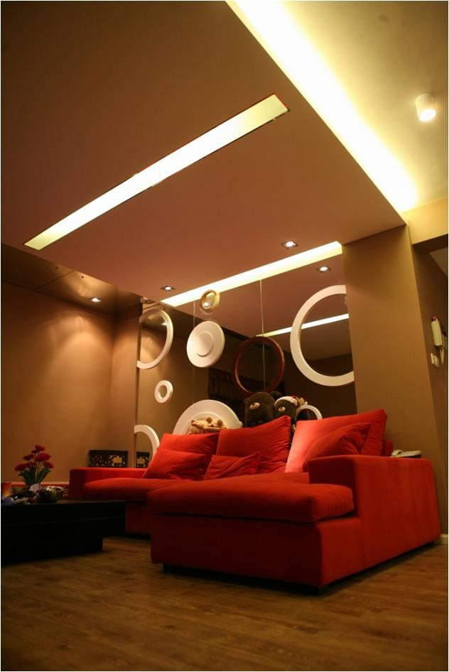 客厅图片来自轻舟装饰-90后的华仔在红木林-55平米-现代风格的分享