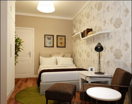 二居 混搭 卧室图片来自今朝装饰小俊在美然百度城的分享