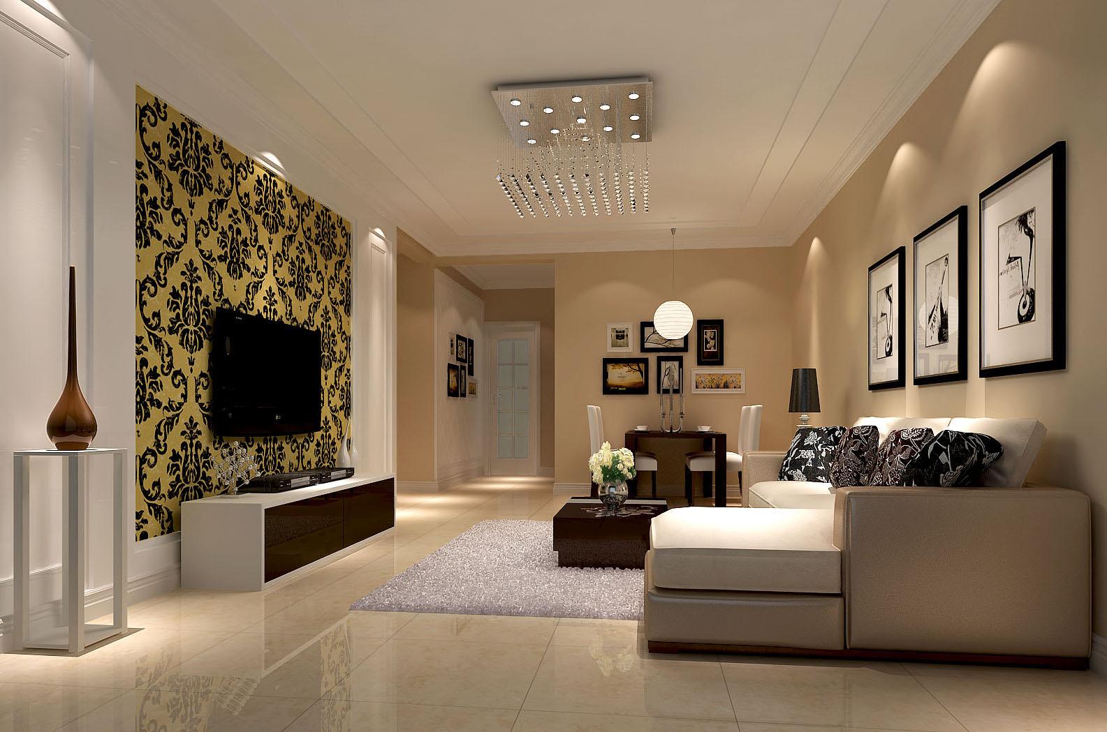 现代 简约 三居 白领 80后 小资 客厅图片来自沙漠雪雨在金谷香俊 5万打造现代简约三居的分享
