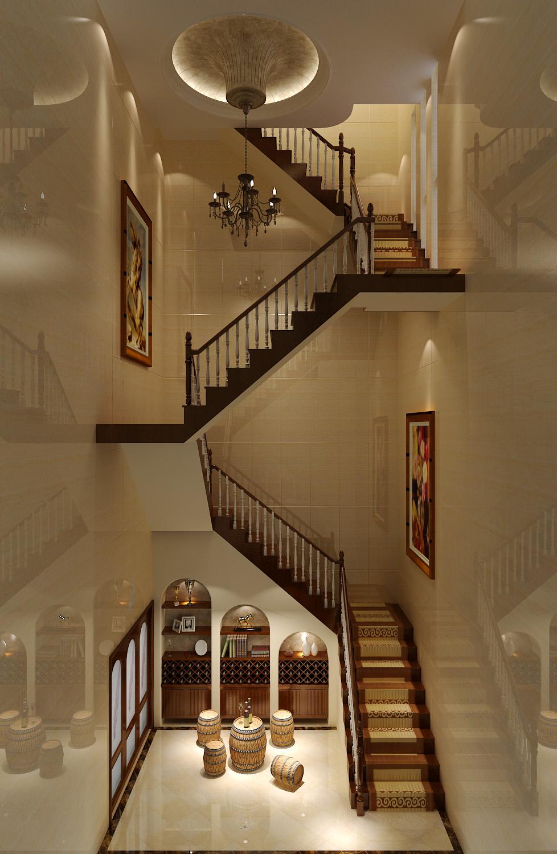 中式 二居 三居 别墅 白领 收纳 旧房改造 80后 小资 楼梯图片来自周楠在精致中式公寓【18万】的分享