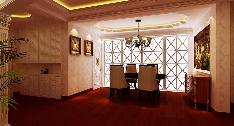 餐厅图片来自潍坊万泰装饰在安丘御景园160平欧式风格的分享