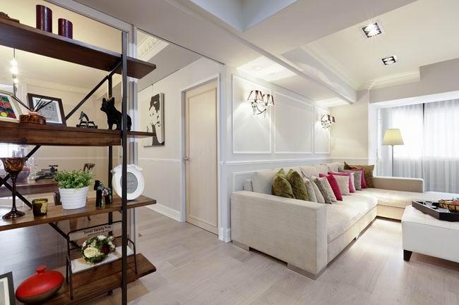 简约 二居 旧房改造 今朝装饰 现代简约风 客厅图片来自北京今朝装饰在时尚简约风格--简单之家的分享
