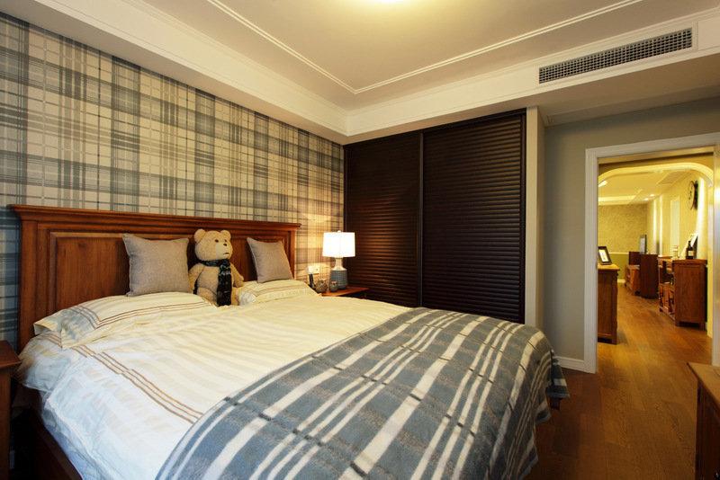 美式 皖匠装饰 家装 卧室图片来自合肥皖匠装饰朱兴美在97平两房两厅温馨而有爱的家的分享