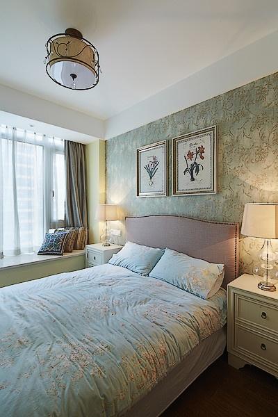 卧室图片来自家装大管家在放逐的波西米亚 107平魅力混搭居的分享