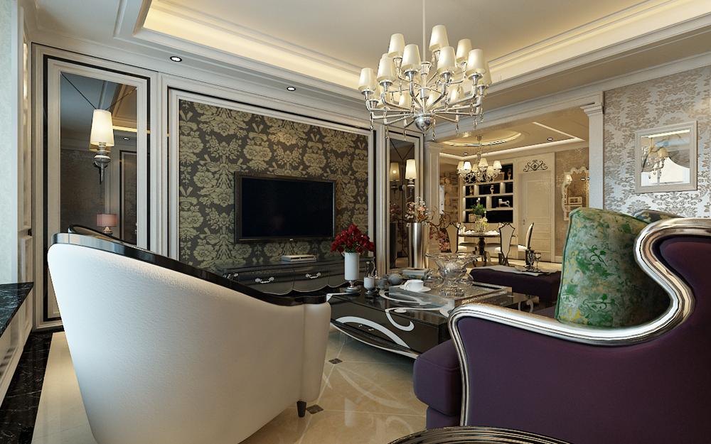 奢华 客厅图片来自东易力天装饰公司在富丽奢华的分享