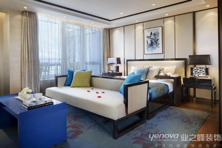武汉业之峰 卧室 装修效果图 卧室图片来自猫咪爱吃鱼在中国蓝——寻找中国梦的分享