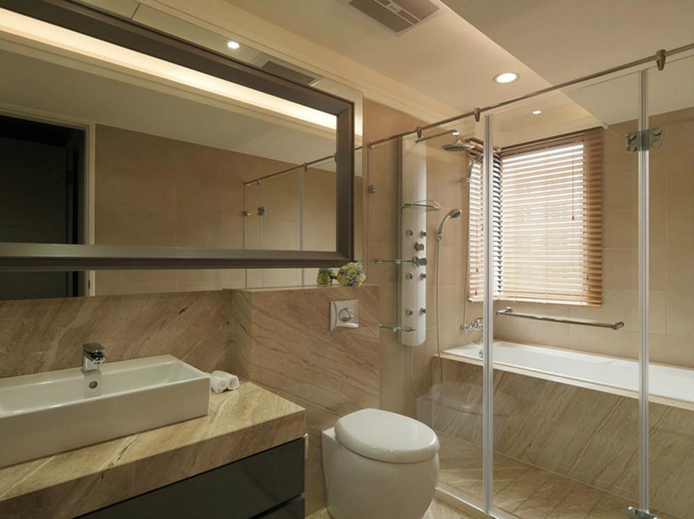 卫生间图片来自今朝装饰小闫在纯净品质的空间的分享