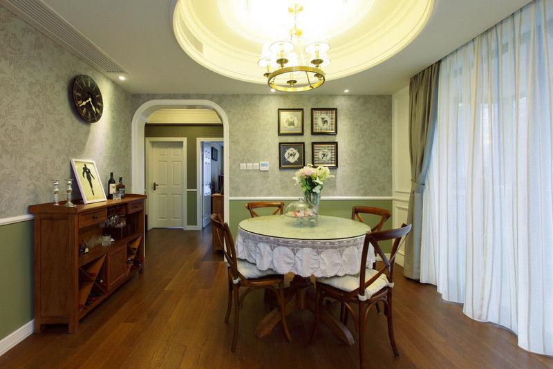 美式 皖匠装饰 家装 餐厅图片来自合肥皖匠装饰朱兴美在97平两房两厅温馨而有爱的家的分享