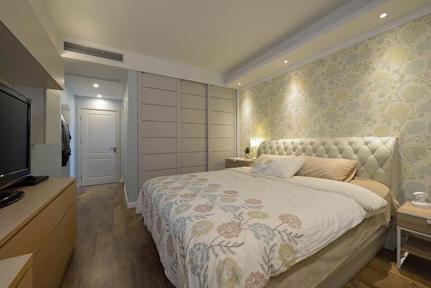 三居 简约 旧房改造 小资 卧室图片来自孙进进在135平米三房改四房自然清新的分享