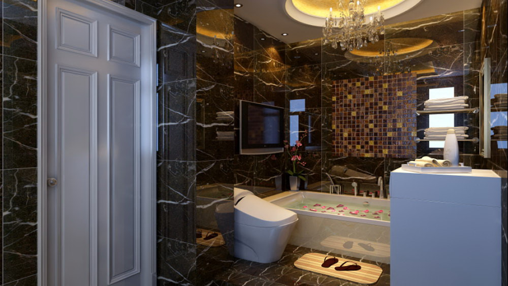 运河湾 三居室 简欧风格 高度国际 装饰设计 卫生间图片来自高度国际装饰宋增会在三居室130简欧风格的分享