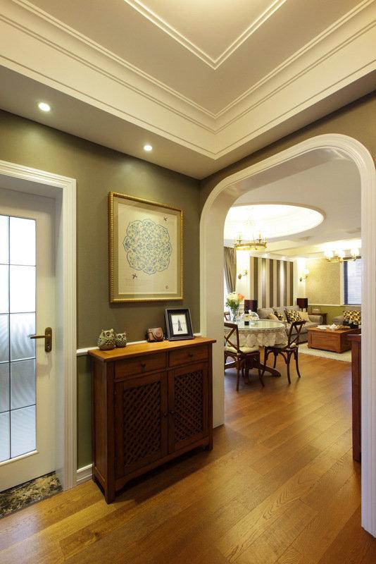 美式 皖匠装饰 家装 玄关图片来自合肥皖匠装饰朱兴美在97平两房两厅温馨而有爱的家的分享