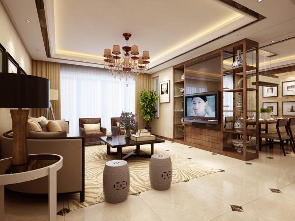 客厅作为待客区域,一般要求简洁明快,同时装修较其它空间要更明快光鲜,客户人喜欢有历史感的东西,这不仅反映在软装摆件上对仿古艺术品的喜爱,同时也反映在装修上对各种仿古墙地砖、和对各种仿旧工艺的追求上。