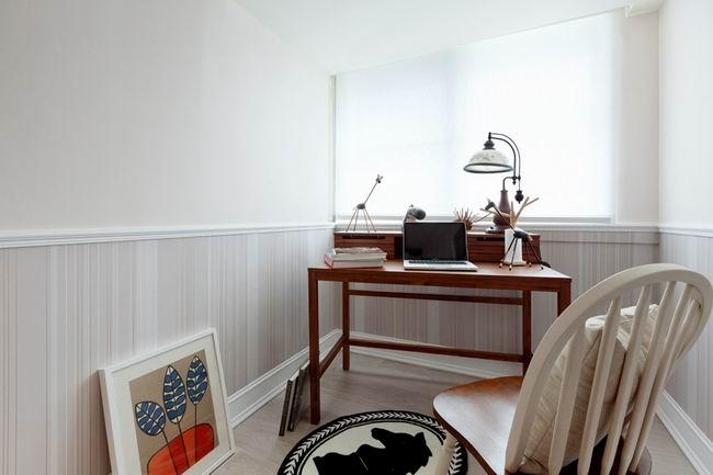 简约 二居 旧房改造 今朝装饰 现代简约风 书房图片来自北京今朝装饰在时尚简约风格--简单之家的分享