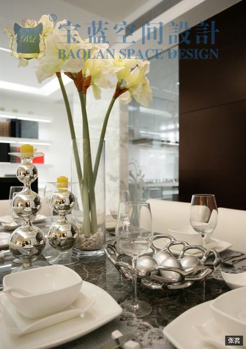 简约 三居 餐厅图片来自众意装饰在百瑞景中央生活区现代简约案例的分享