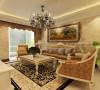 客厅一客厅沙发背景墙设计理念:简单的沙发背景由一幅画来完成,它简约不简单,作为陪衬,不需要出挑,。 亮点:这种简欧造型空间配以生机勃勃是的绿色植物,更显雅致大气。