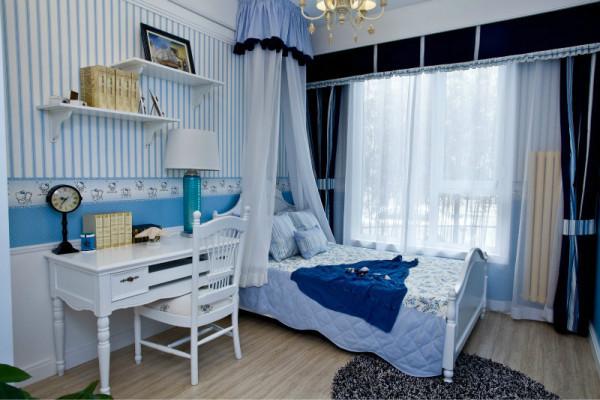 二居 三居 白领 收纳 旧房改造 80后 小资 卧室图片来自今朝装饰小闫在美丽娇妻倾情打造浪漫地中海美宅的分享
