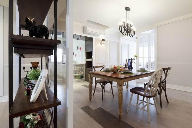 简约 二居 旧房改造 今朝装饰 现代简约风 餐厅图片来自北京今朝装饰在时尚简约风格--简单之家的分享