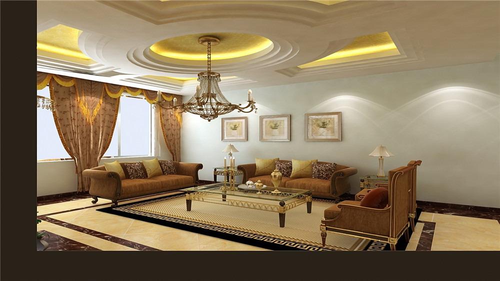 御墅临风 三居室 简约欧式 高度国际 装饰设计 客厅图片来自高度国际装饰宋增会在8.5万三居室简约欧式的分享