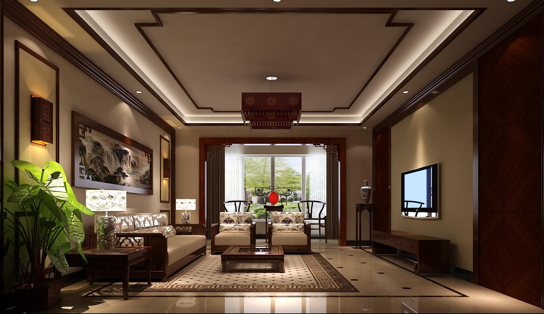 中式 二居 三居 别墅 白领 收纳 旧房改造 80后 小资 客厅图片来自周楠在精致中式公寓【18万】的分享