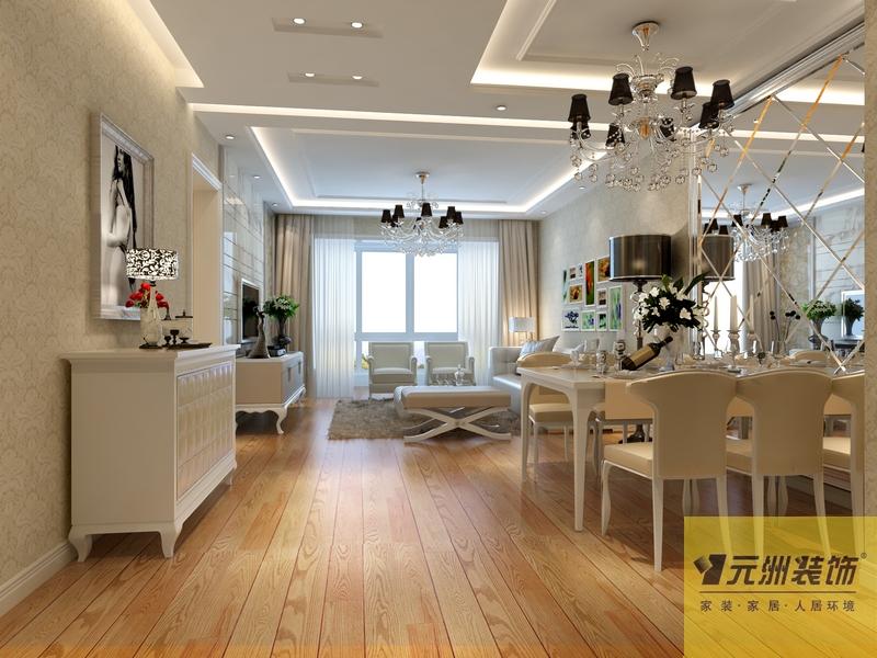 餐厅图片来自元洲胡彩霞在白色新古典美景东方的分享