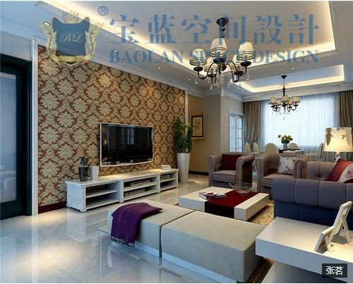客厅图片来自众意装饰在新世界恒大华府现代简约案例的分享