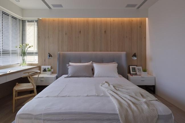 卧室图片来自家装大管家在97平木质清新居 三代同堂幸福宅的分享