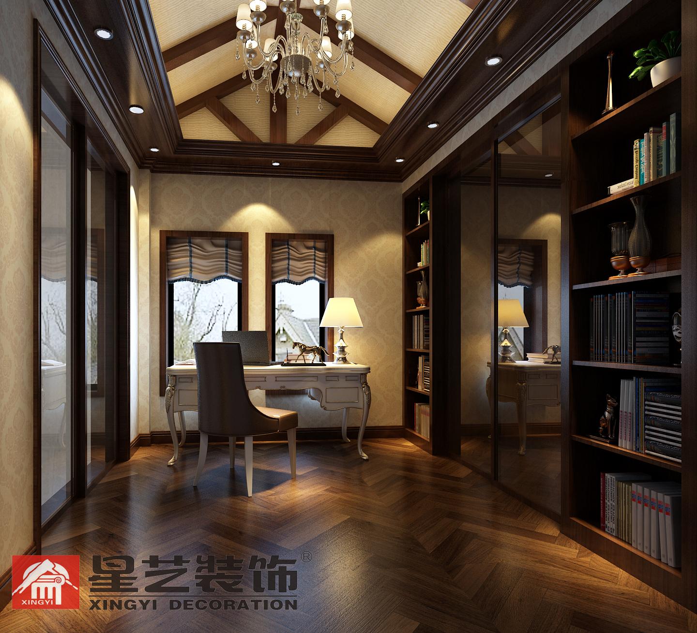 别墅 中式 星艺装饰 新古典 书房图片来自星艺装饰在贵州在星艺装饰·别墅设计的分享