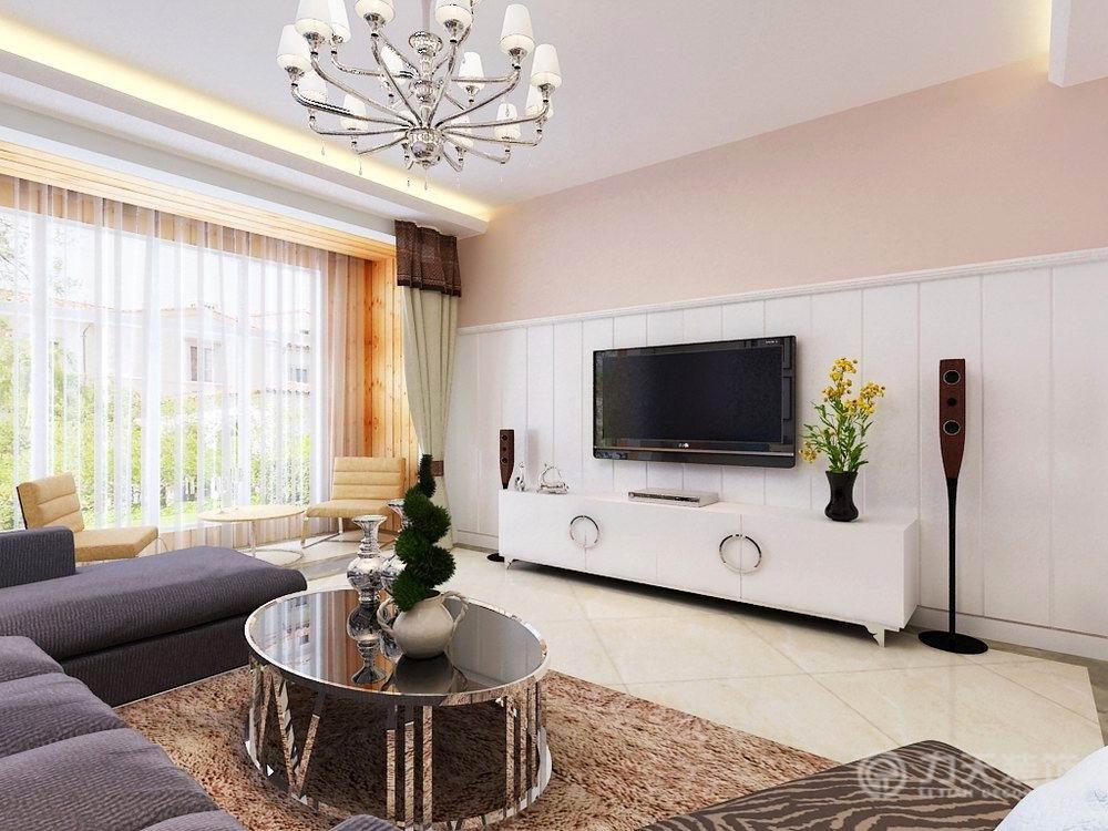 简约 现代 三居 收纳 白领 80后 小资 客厅图片来自阳光力天装饰在亚泰澜公馆-126㎡-现代风格的分享