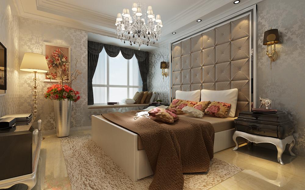 奢华 卧室图片来自东易力天装饰公司在富丽奢华的分享