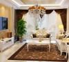 经典浓重的色彩,硕大的花纹图案,适当比例的运用,欧式风格 家私饰品的点缀,引领出高贵、新颖、豪华的简约欧式风格。