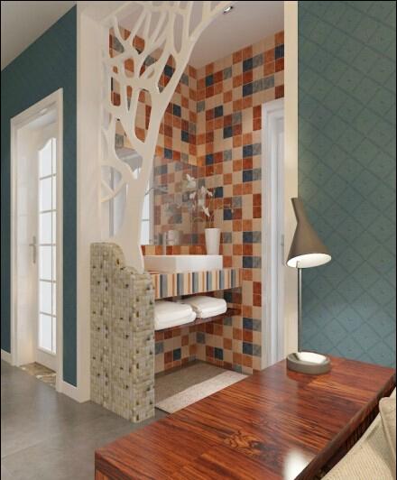 二居 混搭 卫生间图片来自今朝装饰小俊在美然百度城的分享