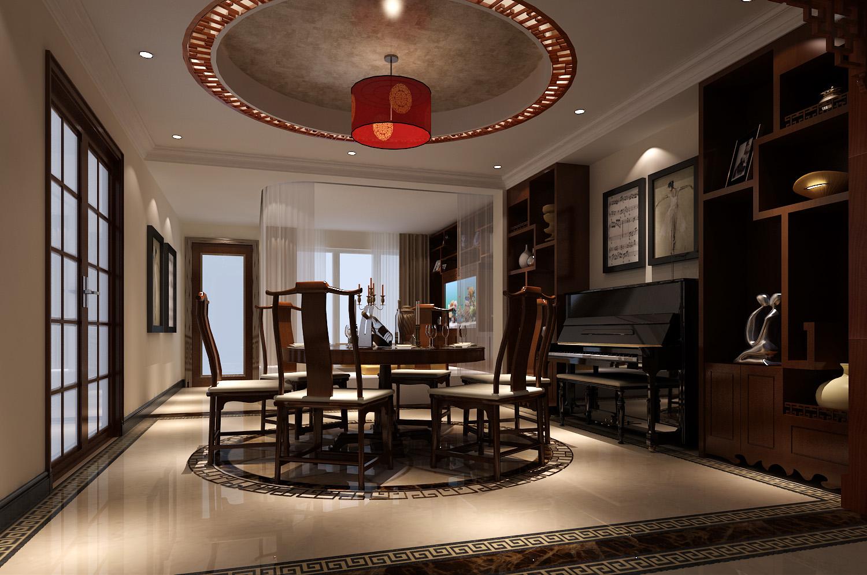 中式 二居 三居 别墅 白领 收纳 旧房改造 80后 小资 餐厅图片来自周楠在精致中式公寓【18万】的分享