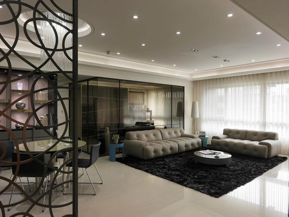 客厅图片来自今朝装饰小闫在纯净品质的空间的分享