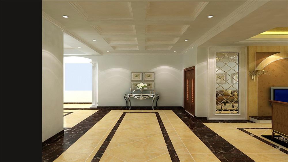 御墅临风 三居室 简约欧式 高度国际 装饰设计 玄关图片来自高度国际装饰宋增会在8.5万三居室简约欧式的分享