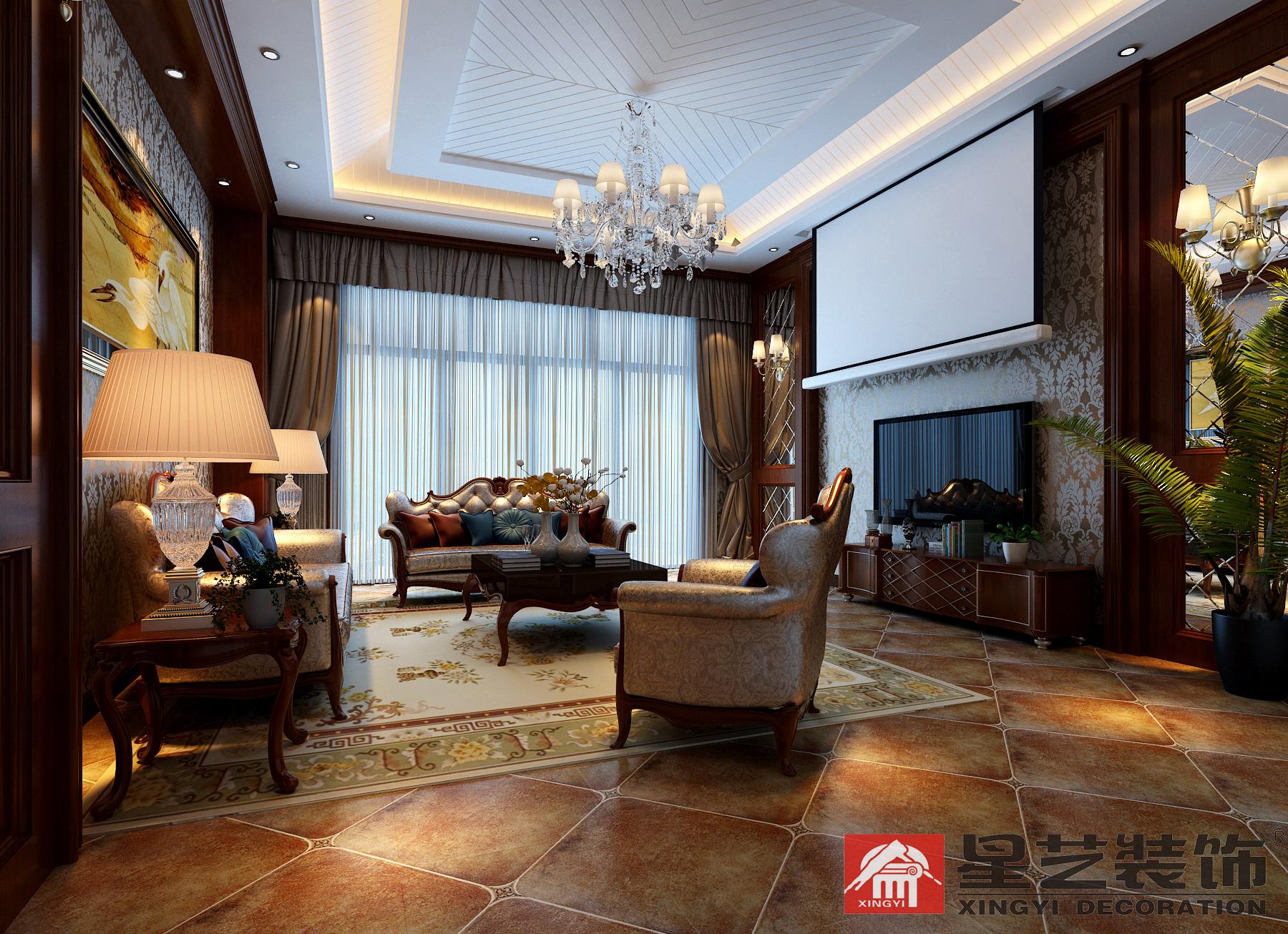 别墅 中式 星艺装饰 新古典 其他图片来自星艺装饰在贵州在星艺装饰·别墅设计的分享