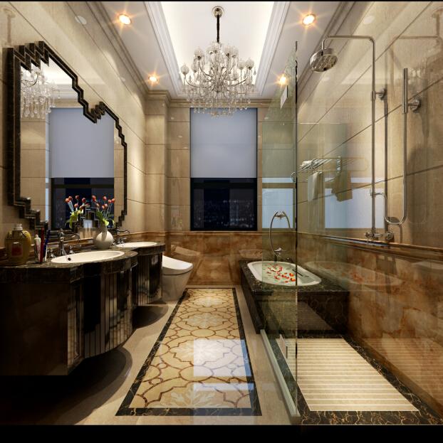 山水装饰 合肥家装 卫生间图片来自shanshui在完美新娘之 浪漫鸢尾情的分享
